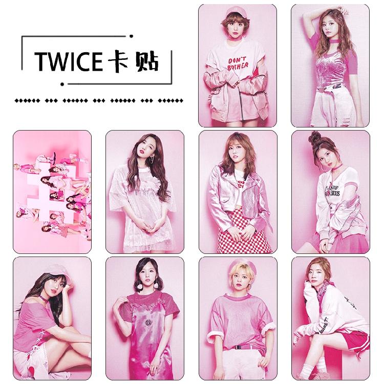 Sticket Card set TWICE #twice (D) 10pc
