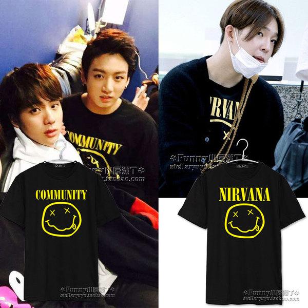 เสื้อยืด NIRVANA Sty.Taehyun winner -ระบุสี/ไซต์-