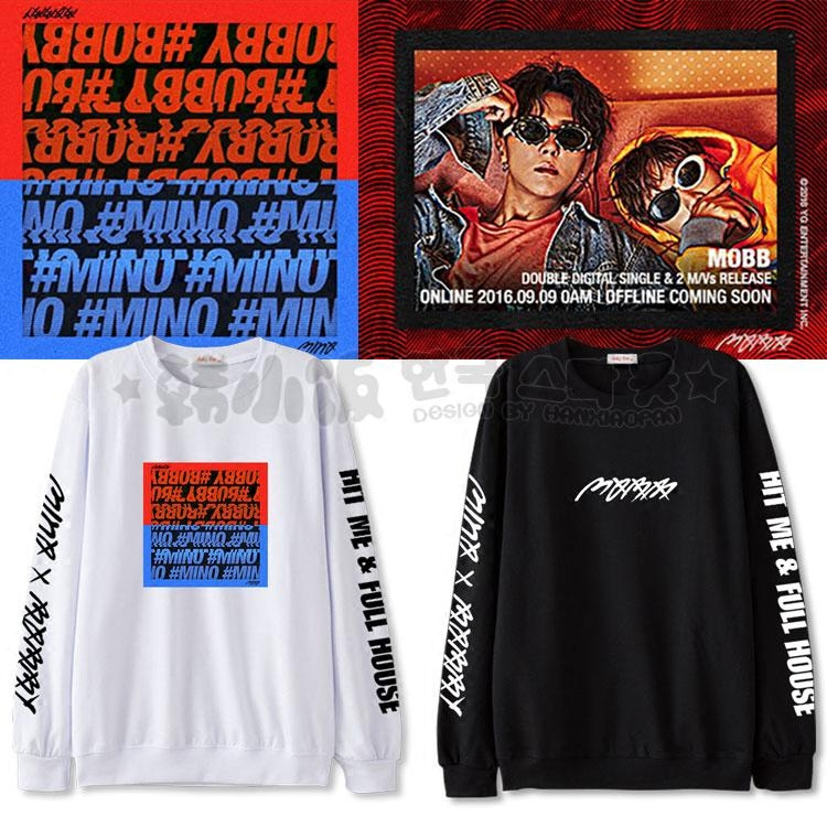เสื้อแขนยาว THE MOBB (MINO BOBBY) SOLO ALBUM -ระบุสี/ไซต์-