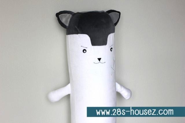 ปลอกหมอนข้างตุ๊กตา หมาป่า ## พร้อมส่งค่ะ ##