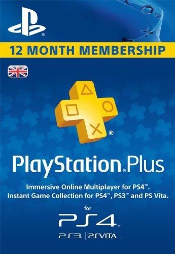 PSN Plus UK 12 month