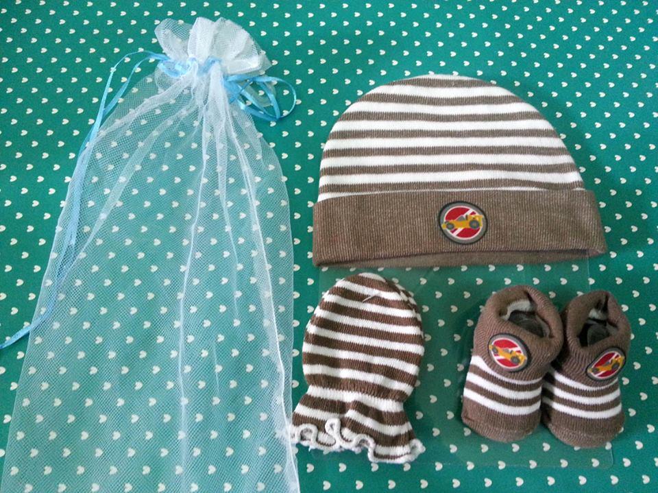 Newborn Gift Set สีน้ำตาล