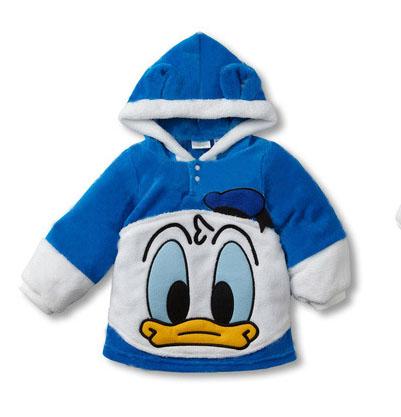 เสื้อกันหนาวลายดิสนีย์ โดนัลสีฟ้า