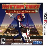 3DS:Rhythm Thief the Emperor's Treasure (US)