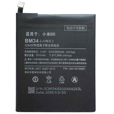 แบต mi note pro BM34