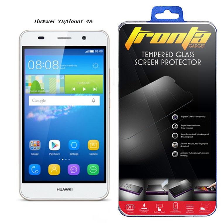 Tronta ฟิล์มกันรอยมือถือหัวเหว่ย ฟิล์มกระจก Huawei (หัวเหว่ย)Y6/Honor 4A