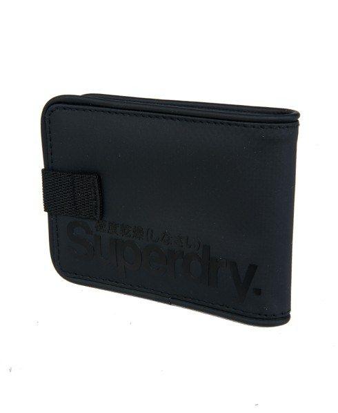Superdry - Tarpaulin Wallet สีดำ (Black/Black)