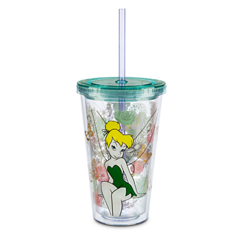z Tinker Bell Tumbler with Straw
