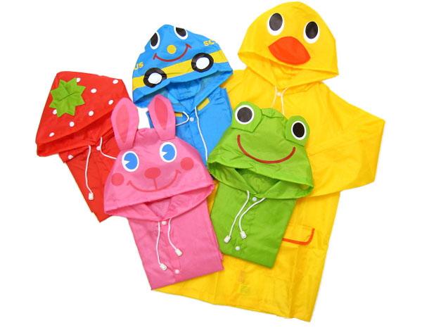 Funny Raincoat Waterproof Rain wear เสื้อกันฝนเด็ก คุณภาพดี เสื้อกันฝนเด็กอนุบาล ลายการ์ตูน