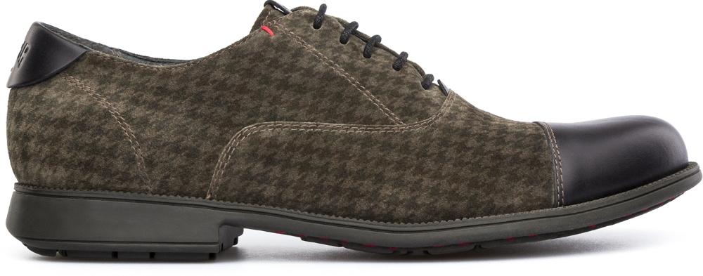 รองเท้า Camper MIL 18756-013 Year 1913 Colour: khaki and black ผู้หญิง ผู้ชาย Size 41-42