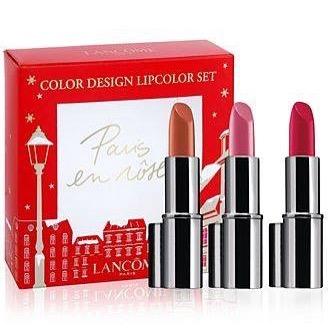 **พร้อมส่งค่ะ**Lancome Color Design Lipcolor Set