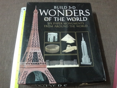 Build 3 –D wonders of the world