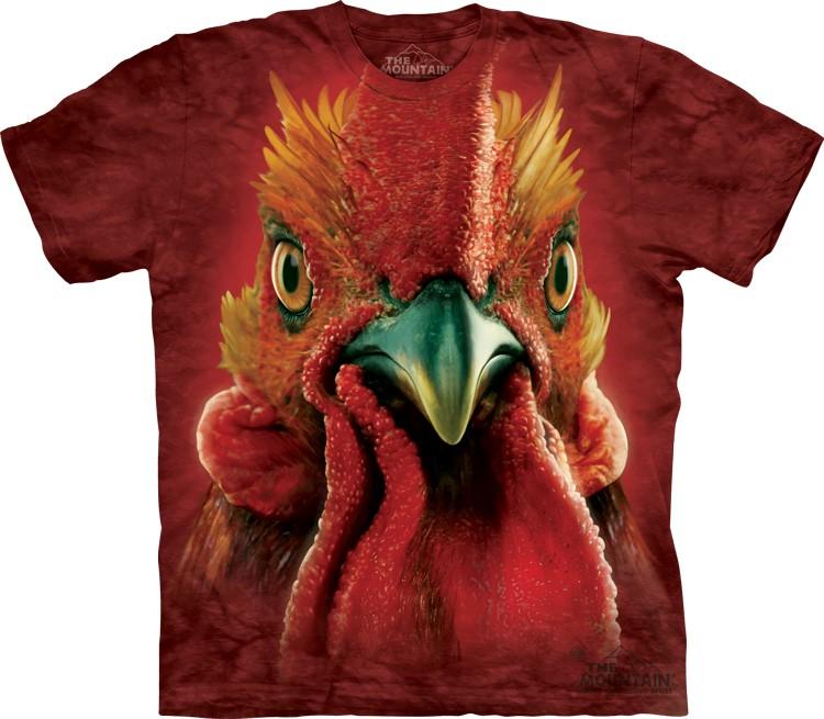 Pre.เสื้อยืดพิมพ์ลาย3D The Mountain T-shirt : Big Cock Head