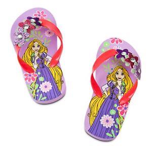 Rapunzel flip flop for girls(size 11/12) (พร้อมส่ง)