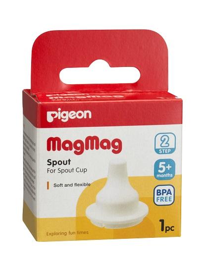 พีเจ้น Pigeon อะไหล่ถ้วยหัดดื่ม จุกนิ่ม Step 2