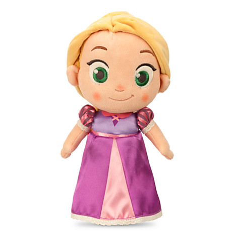 z Toddler Rapunzel Plush Doll - Tangled - Small - 12''