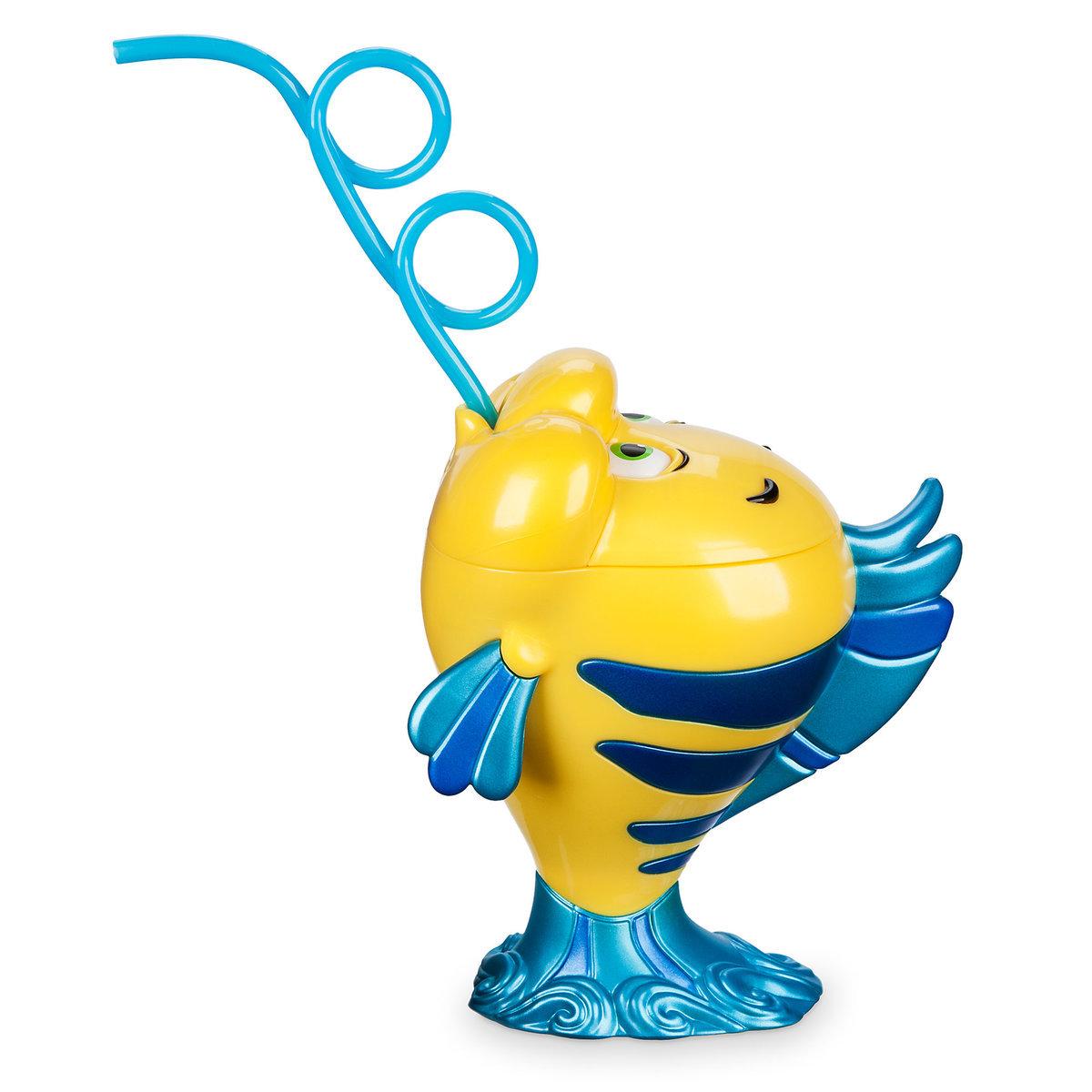 Flounder Novelty Cup - Oh My Disney ของแท้ นำเข้าจากอเมริกา