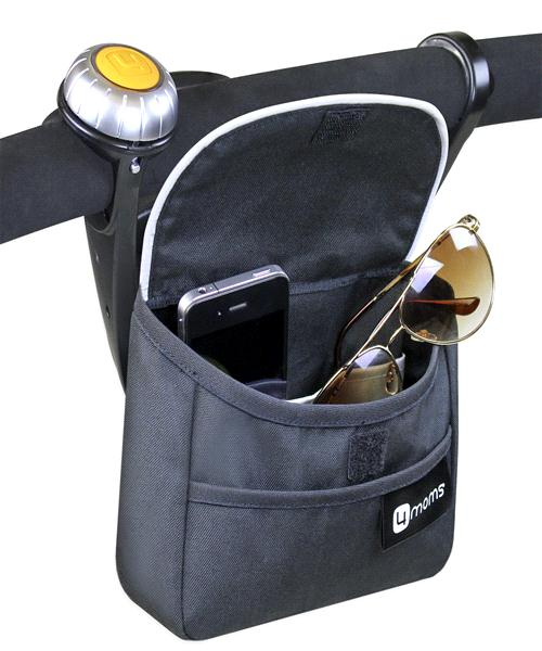 4Moms ORIGAMI CELL CHARGER CABLE&HANDLEBAR BAG กระเป๋าใส่ มือถือ เเละที่ ชาร์จโทรศัพท์มือถือ สำหรับ รถเข็นเด็ก 4moms ORIGAMI ของแท้มาพร้อมกล่อง จาก 4moms US ค่ะ