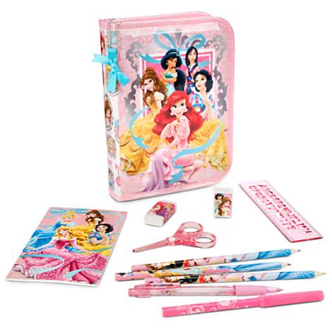 z Disney Princess Zip-Up Stationery Kit