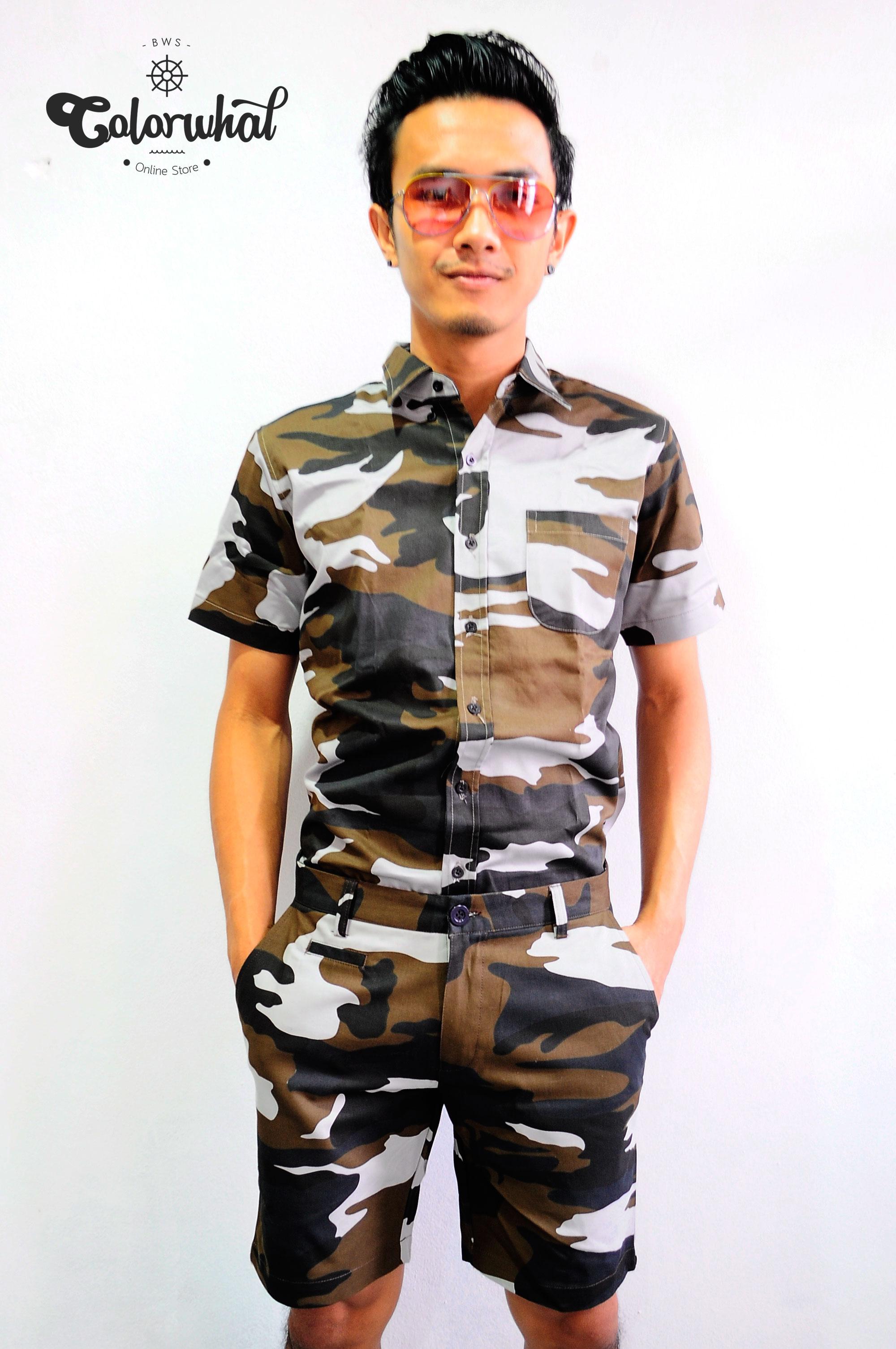 ชุดทหาร Shirtfolding 005