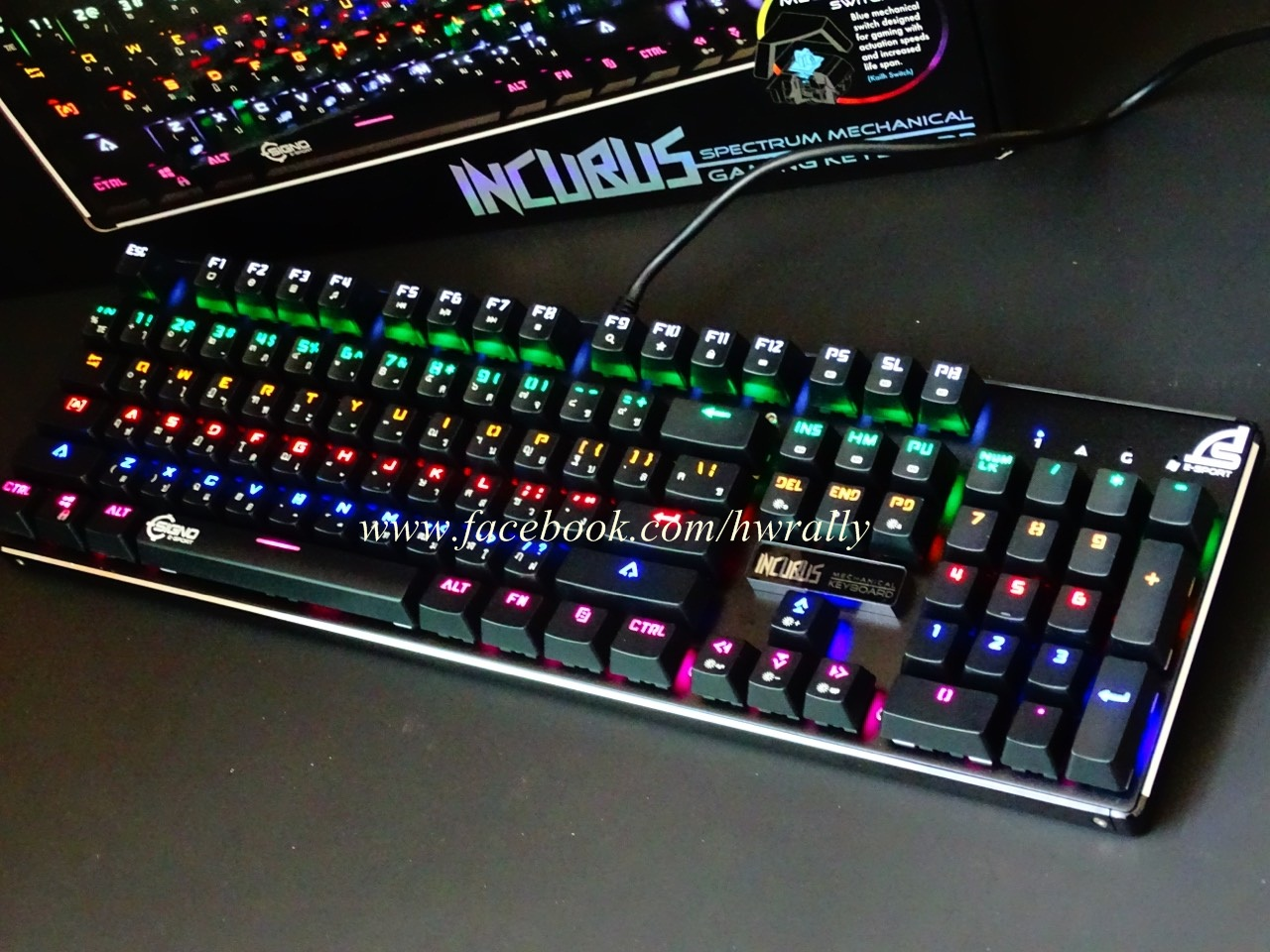Signo KB-789 Machanical Switch Kailh Keyboard RGB