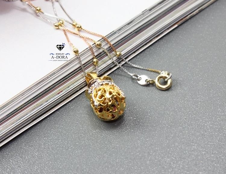 พร้อมส่ง ~ A~Dora Brand Gold Bag For Women Real 18k Gold