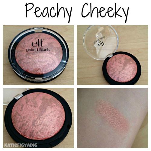 **พร้อมส่งค่ะ+ลด 50%**E.L.F Baked Blush Peachy Cheeky 83351