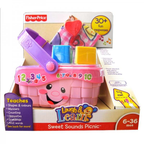 z Fisher Price Laugh&Learn Sweet Sounds Picnic.