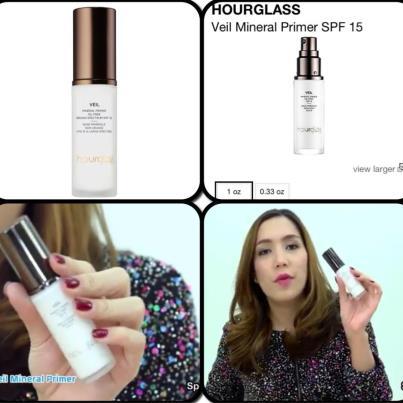*พร้อมส่ง* hourglass veil mineral primer SPF 15 Oil Free 4.11 ml