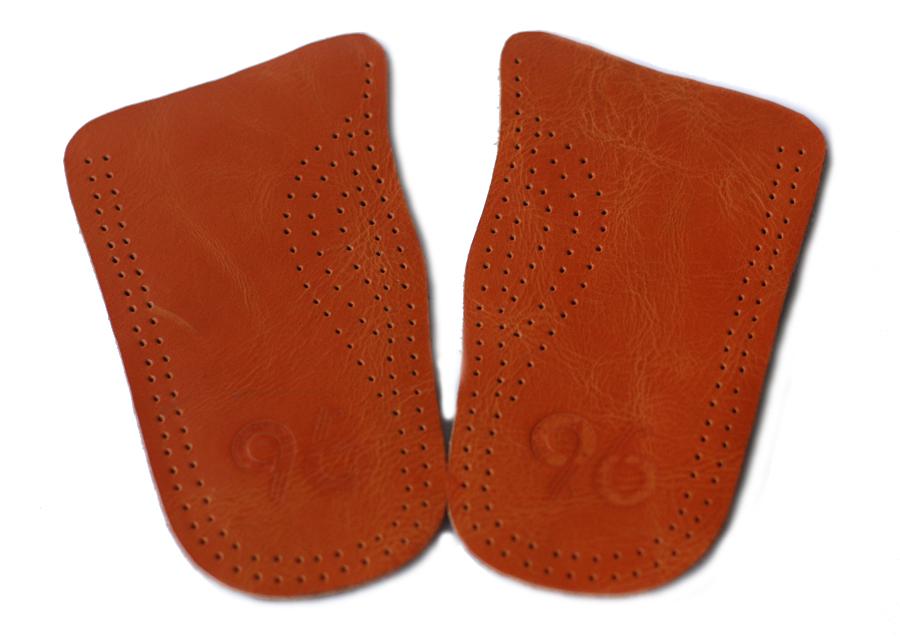 พื้นเสริมความสูงส้นรองเท้าหนังแท้ หนังออย สามารถใช้ได้กับรองเท้าทุกรุ่นทุกยี่ห้อ ระบายอากาศได้ดี ไม่อับชื้น