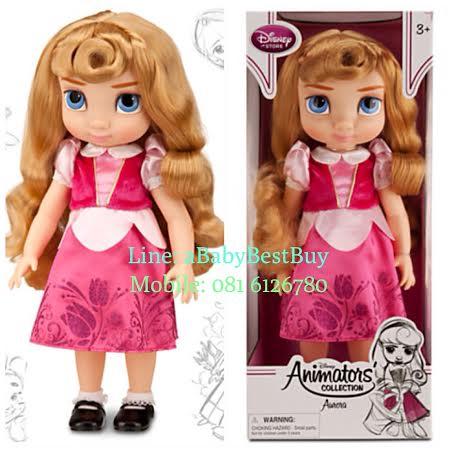 z Disney Animators' Collection Aurora Doll - 16'' รุ่นใหม่ (พร้อมส่ง) ตุ๊กตาดีสนีย์ แอนิเมเตอร์ เจ้าหญิงออโลร่า เจ้าหญิงนิทรา รุ่นใหม่ รุ่น2 (รุ่นสอง)