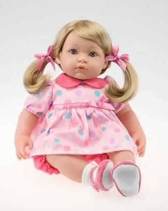 """ตุ๊กตา Berenguer Anna Bella 20"""" ผมแกะ"""