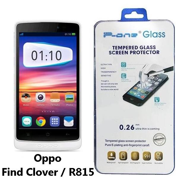 ฟิล์มกระจก Oppo Find Clover / R815