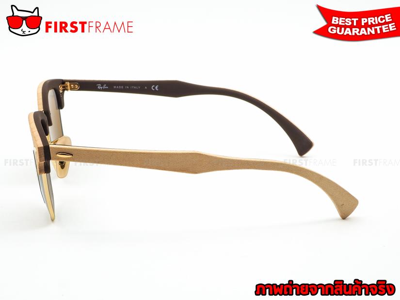 แว่นกันแดด RayBan RB3016M 1179 CLUBMASTER WOOD3