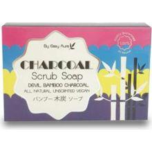 สบู่แบมบูชาโคล Easy Aura Devil BamBoo CharCoal Scrub Soap