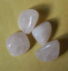 (หมด)โรส ควอตซ์ Rose Quartz ขัดเงา หินแห่งความรัก