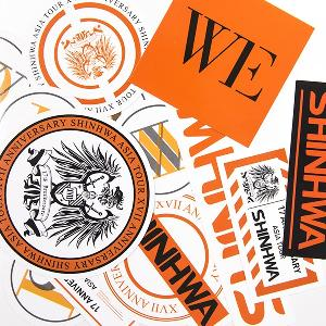 Luggage Sticker - 2015 SHINHWA 17th Anniversary Concert [WE]