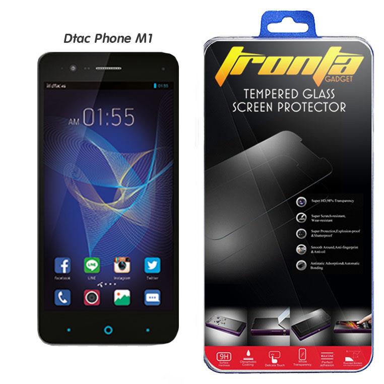 ฟิล์มกระจก Tronta DTAC Phone M1