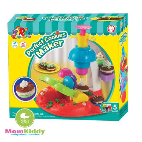 ชุดแป้งโดว์ทำคุกกี้ Perfect Cookies Maker