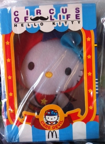 Mc Hello Kitty Flying shells circus of life