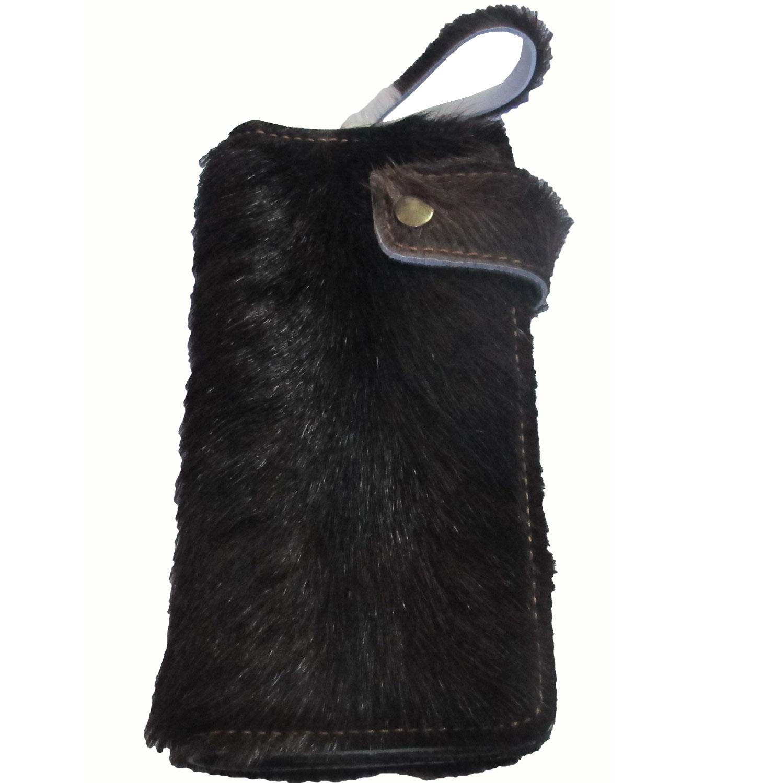 กระเป๋าสตางค์ยาว ขนวัวแท้ สัมพัสนุ่มมือ สุดเทห์ สไตน์ Cowboy