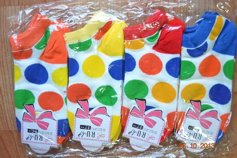 S116**พร้อมส่ง** (ปลีก+ส่ง) ถุงเท้าแฟชั่นเกาหลี ข้อสั้น เนื้อดี งานนำเข้า(Made in China)