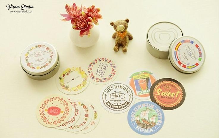 สติ๊กเกอร์ชุด : Small Fresh sticker label