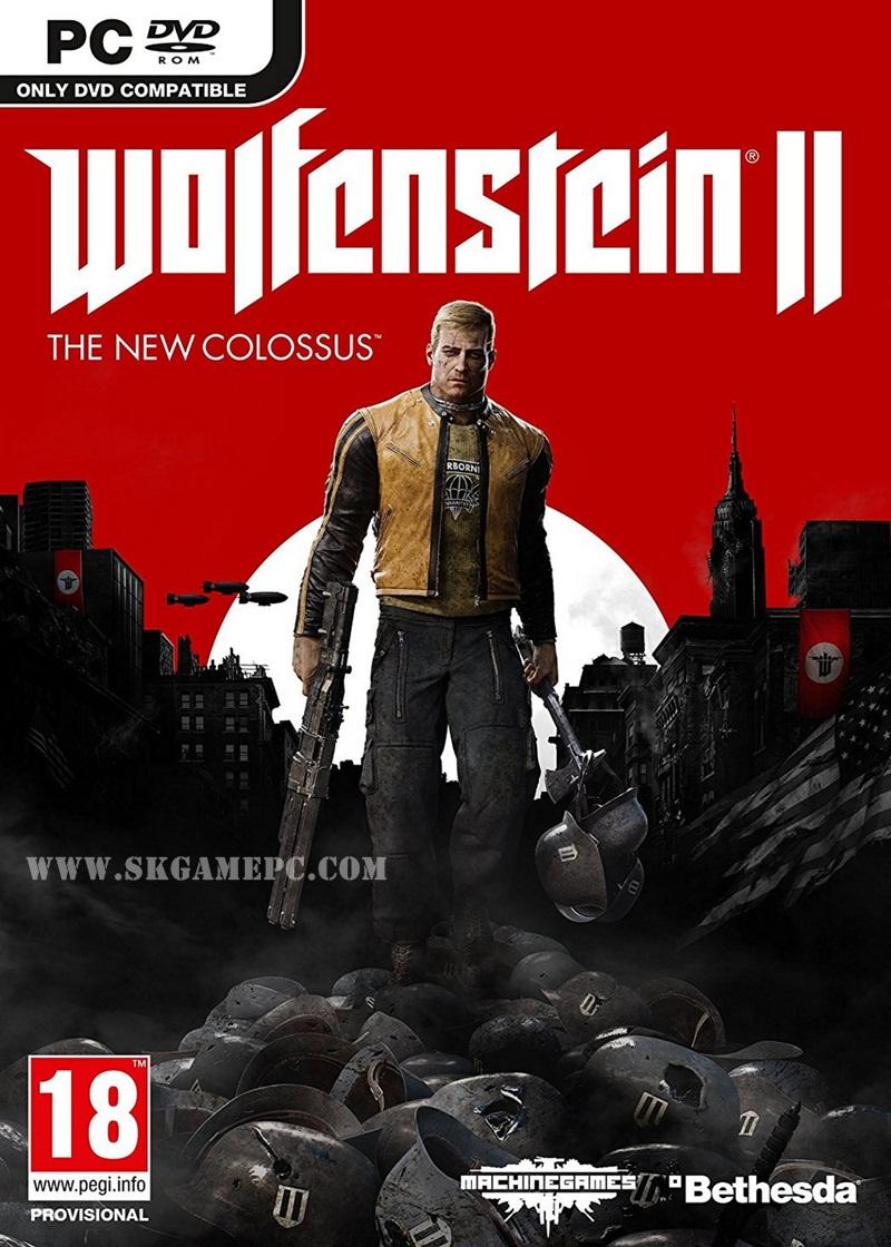 Wolfenstein II The New Colossus ( 10 DVD )