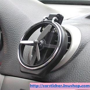 อุปกรณ์แต่งรถ ที่วางแก้วน้ำหน้ารถ modern พลาสติกเนื้อแข็งสีดำ