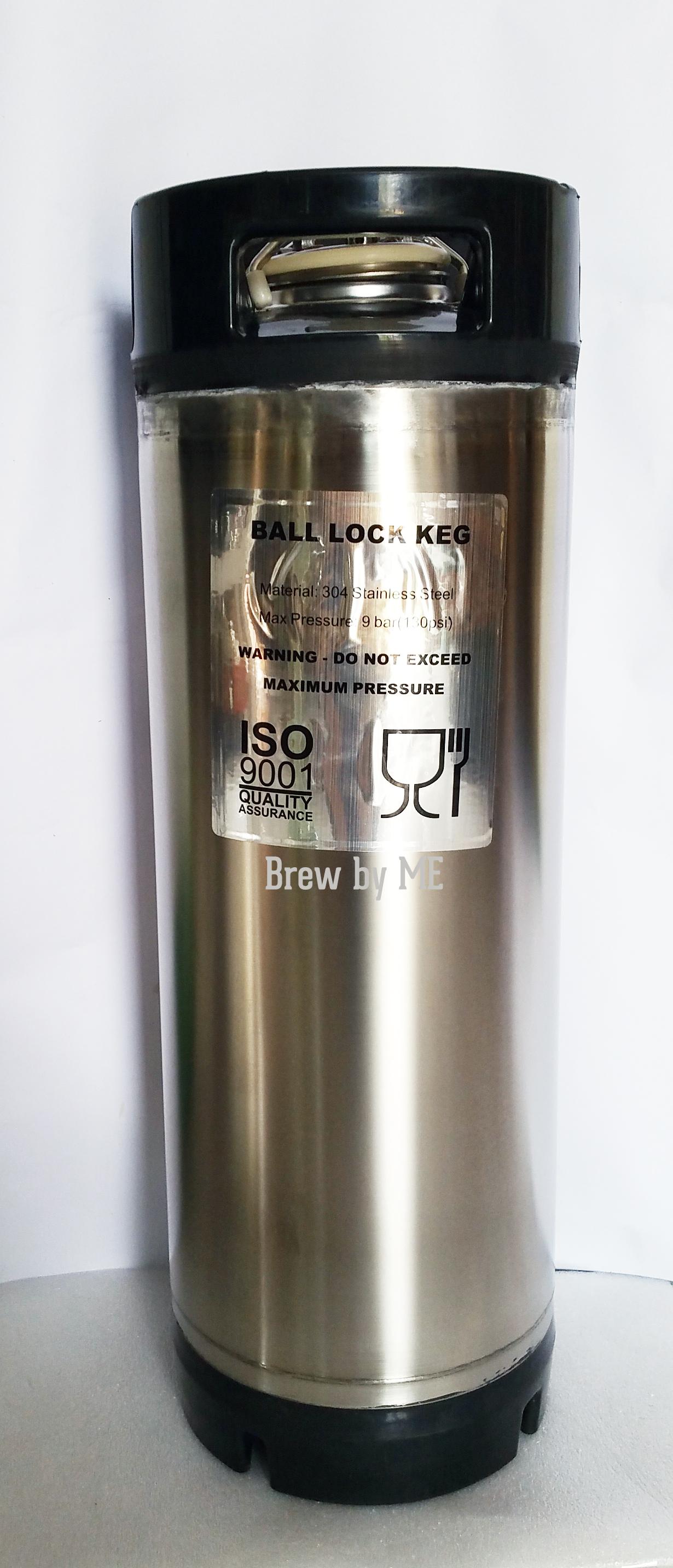 New 5 gallon Ball Lock Keg