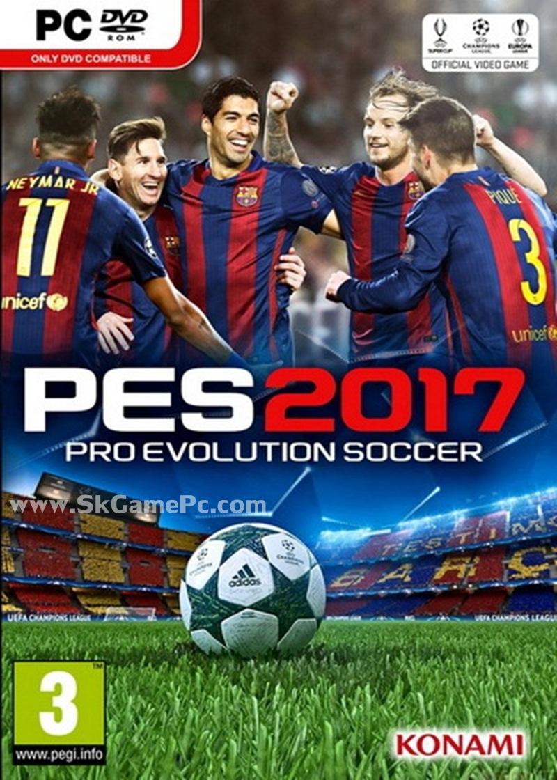 Pro Evolution Soccer 2017 ( 3 DVD )