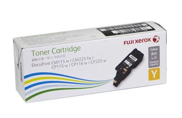 Fuji Xerox CT202270 ตลับหมึกโทนเนอร์ สีเหลือง ของแท้ Yellow Original Toner Cartridge