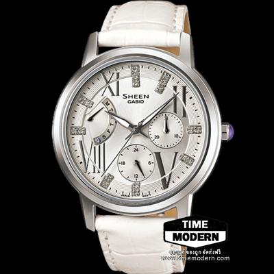 นาฬิกา Casio Sheen Muti-hand รุ่น SHE-3024L-7ADR
