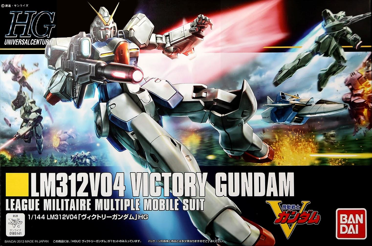 HGUC 1/144 165 Victory Gundam 1200y
